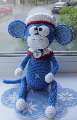 Смешная обезьянка своими руками