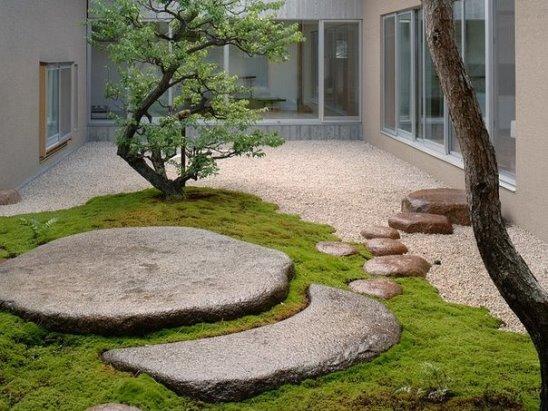 Дизайн во дворике
